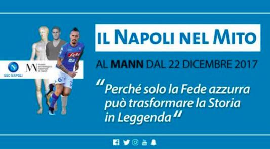 """La mostra """"Il Napoli nel mito"""" senza Maradona in copertina"""