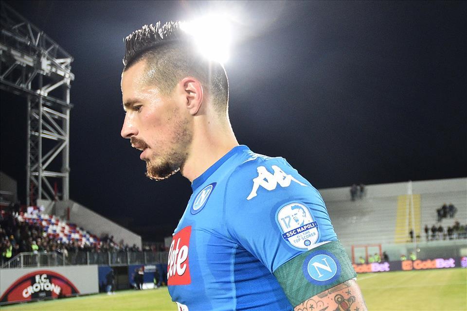 Sassuolo-Napoli, Hamsik in dubbio: per Marek è una stagione complessa