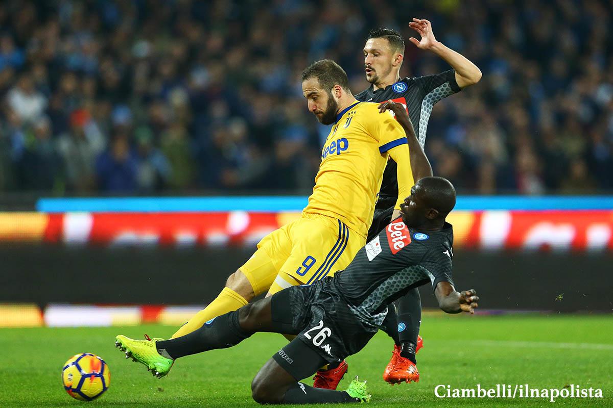 Napoli-Juventus, l'analisi del gol di Higuain