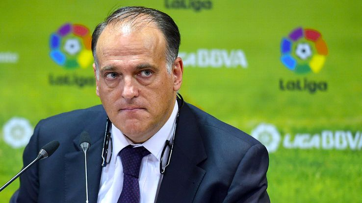 Javier Tebas, il manager della Liga conteso come un top player
