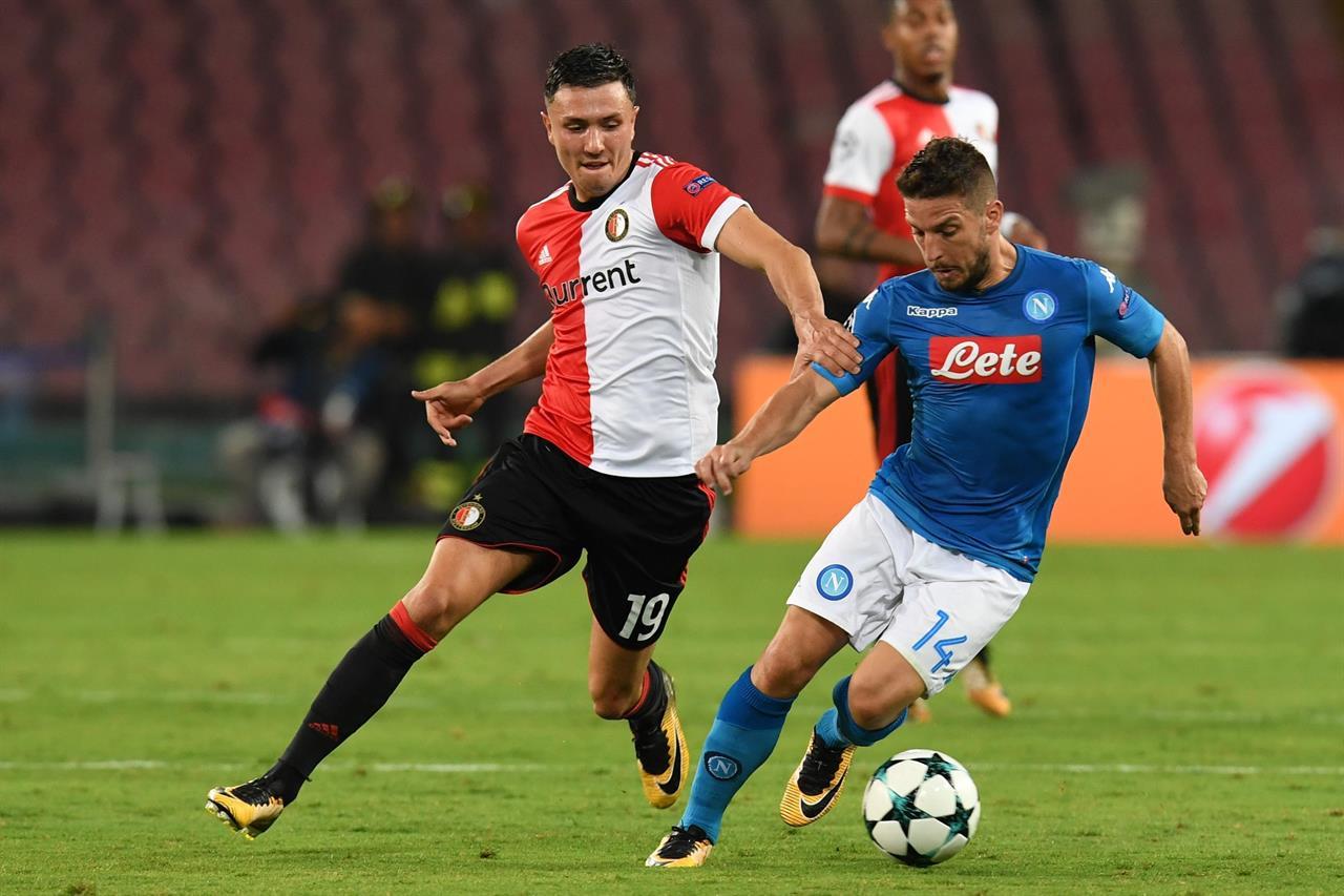 Feyenoord-Napoli, ecco come vederla in tv e streaming