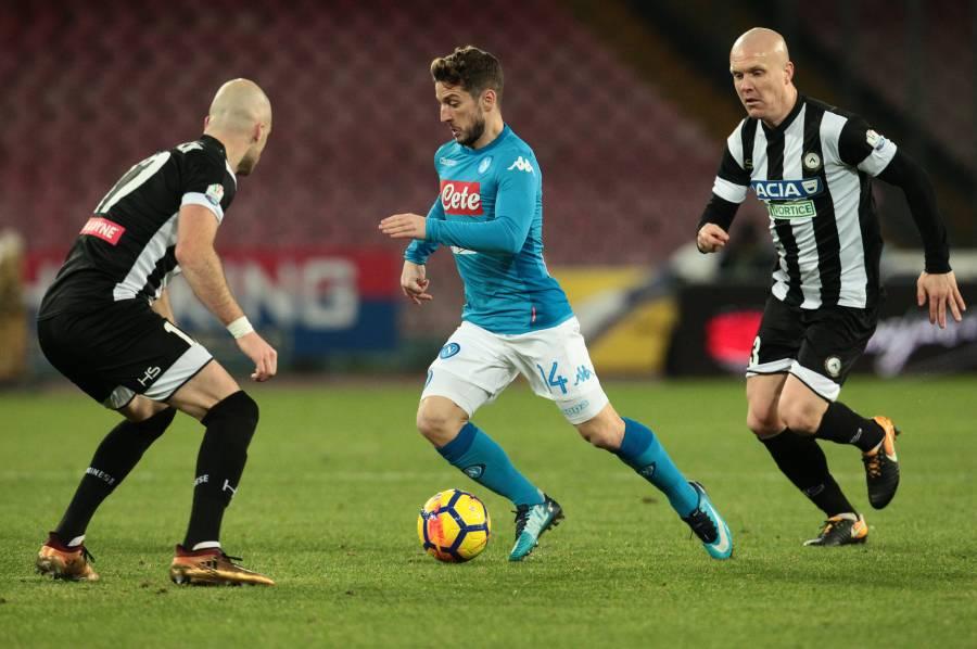 Mediaset: Mertens ha ancora dolore alla caviglia, potrebbe andare in panchina per Napoli-Lazio
