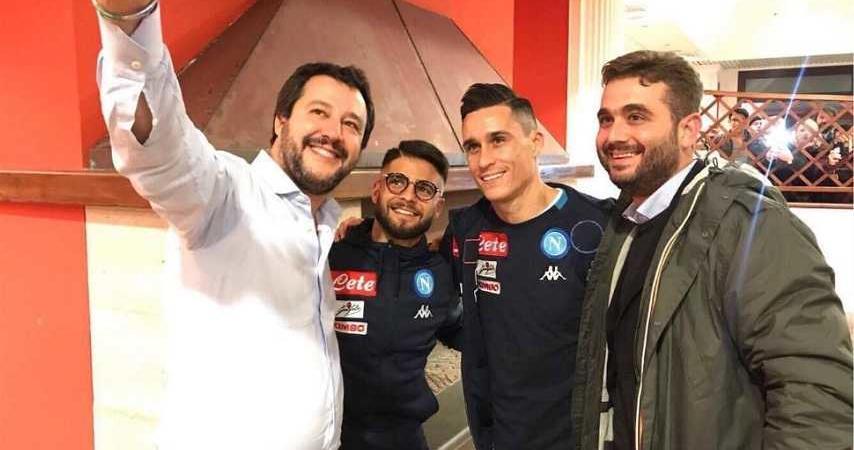 Salvini: «Vorrei godermi Napoli da turista e vedere il San Paolo»
