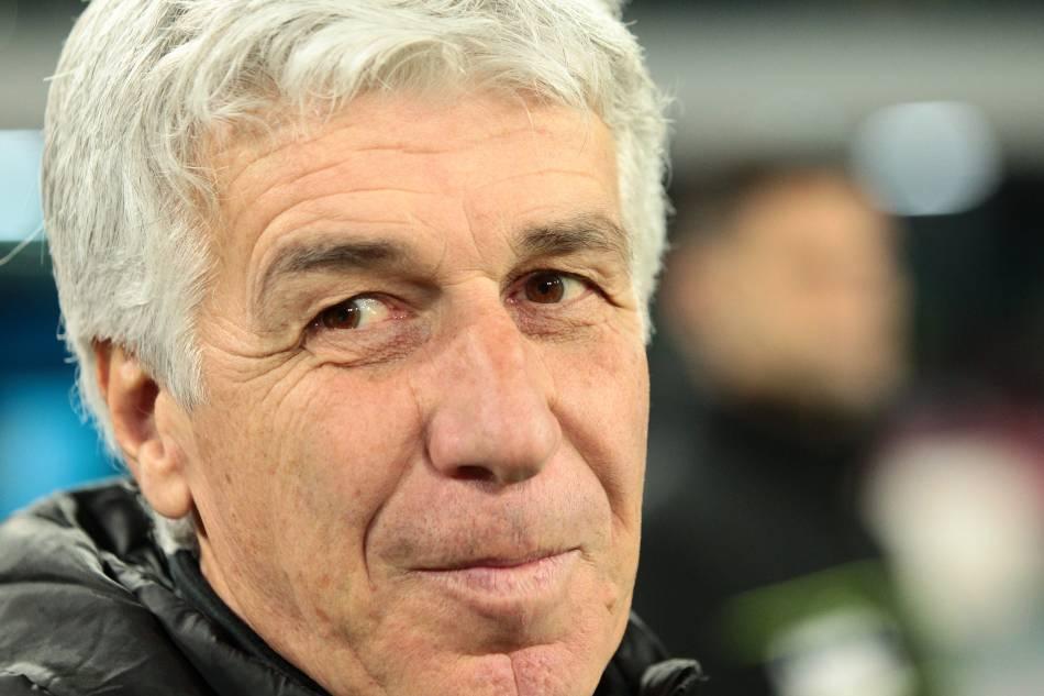 La reazione esagerata di Gasperini per il gol di Mertens