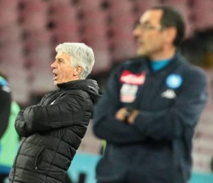 """Gasperini: """"Il Napoli di Sarri esempio di gioco e qualità. Ancelotti? I vincenti sono un esempio"""""""