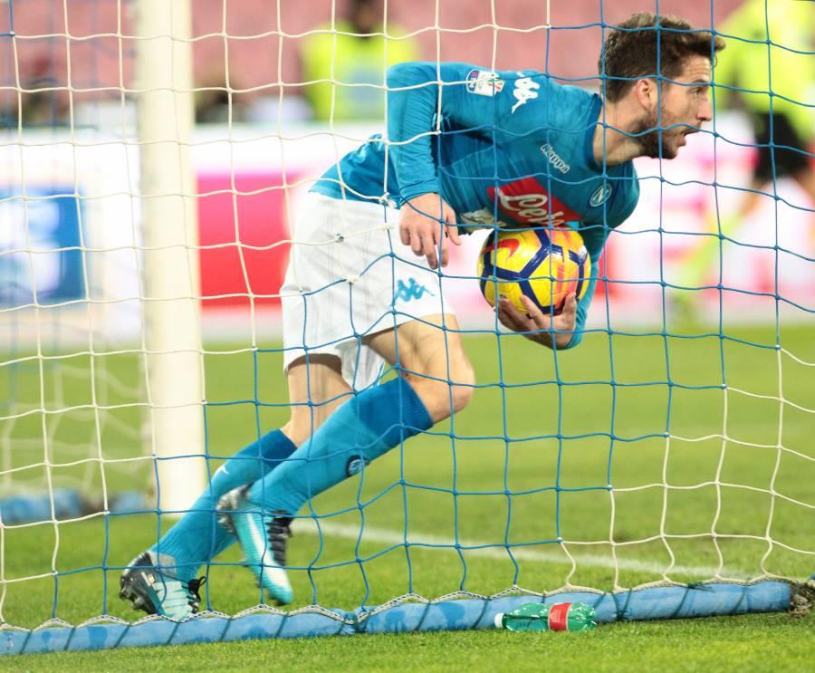 Napoli-Atalanta: tante cose negative, ma anche il ritorno di Mertens al gol