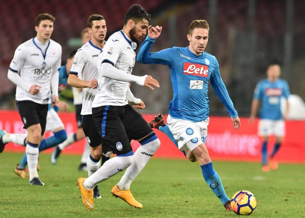 Napoli-Atalanta 1-2, Gasperini batte ancora Sarri con i gol di Castagne e Gomez