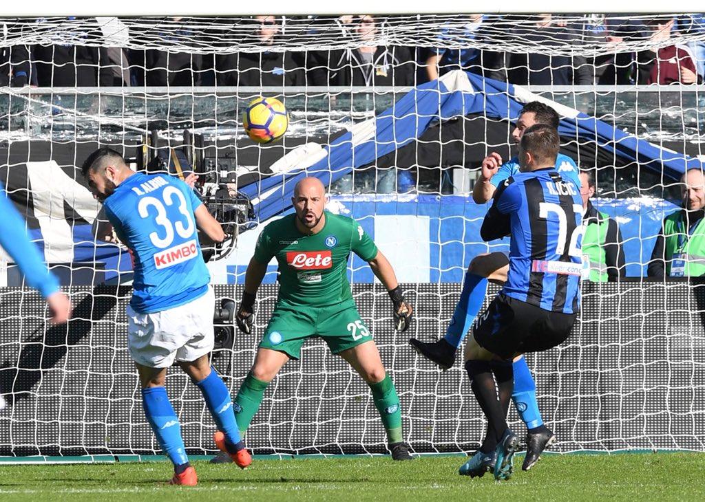 Mertens  mette fine al suo digiuno, 15 partite senza gol subiti in stagione per il Napoli