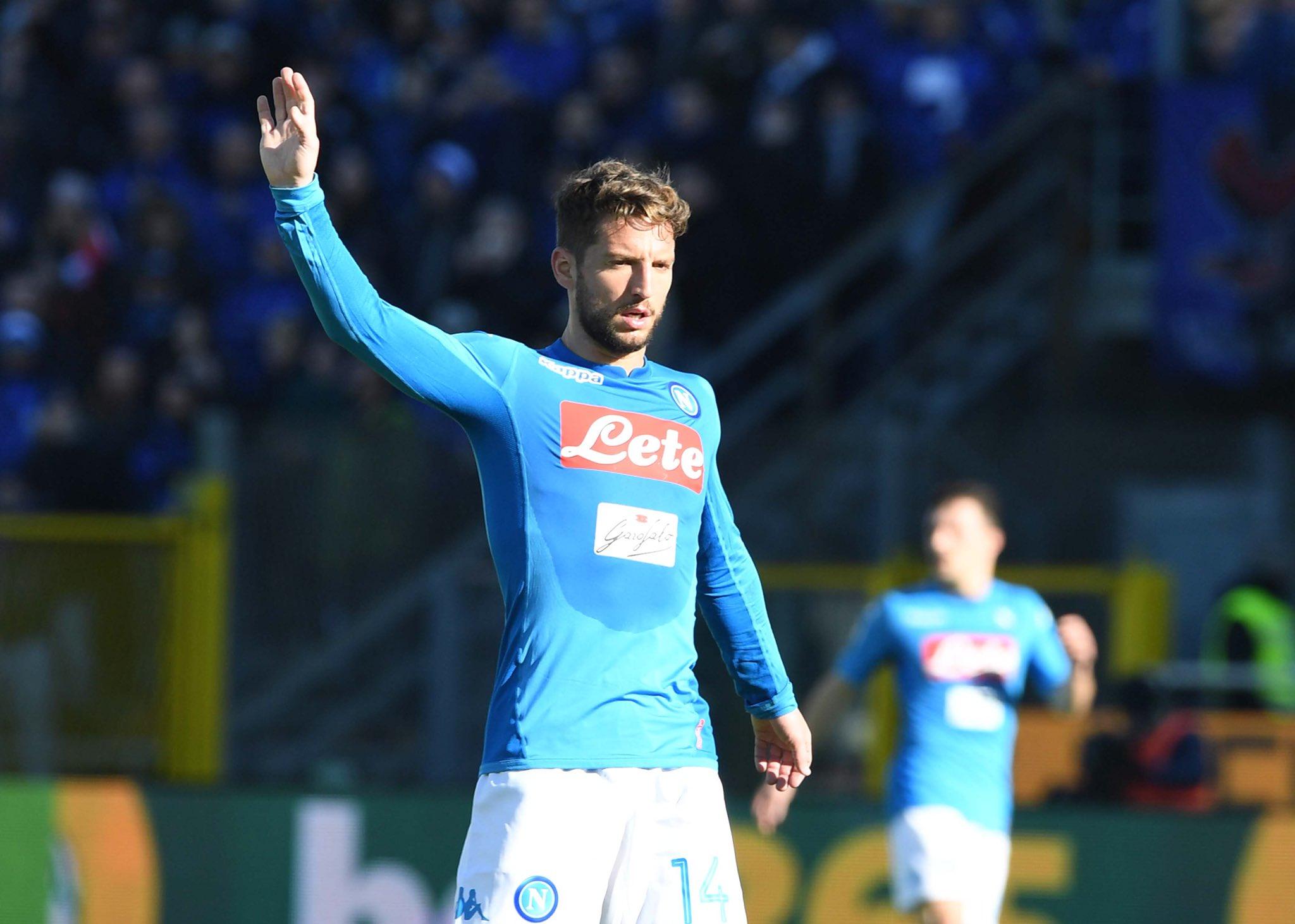 Atalanta-Napoli 0-1, Mertens batte i fantasmi. E il Napoli batte sé stesso