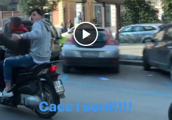 """La rettifica di Alessandro, il ragazzo sullo scooter: «A Luigi De Laurentiis ho detto """"Sei il numero uno!""""»"""