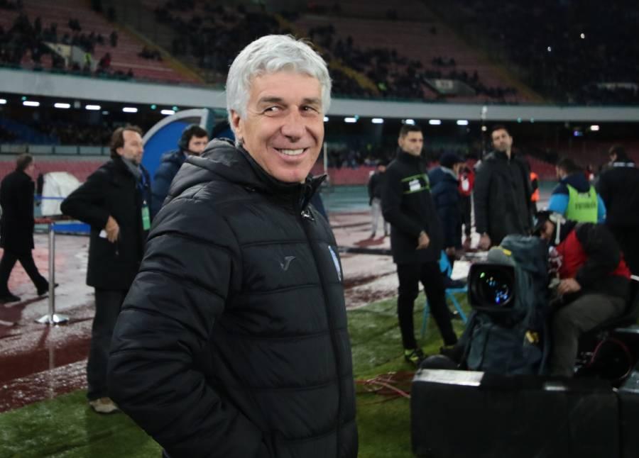 Gasperini: «Il passato non conta, il Napoli è primo in classifica»
