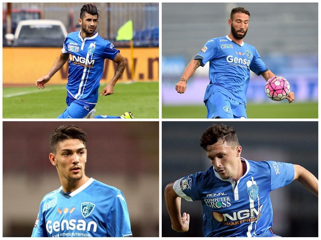 Barba completerebbe la difesa dell'Empoli a Napoli. Sarri come Sacchi in Nazionale