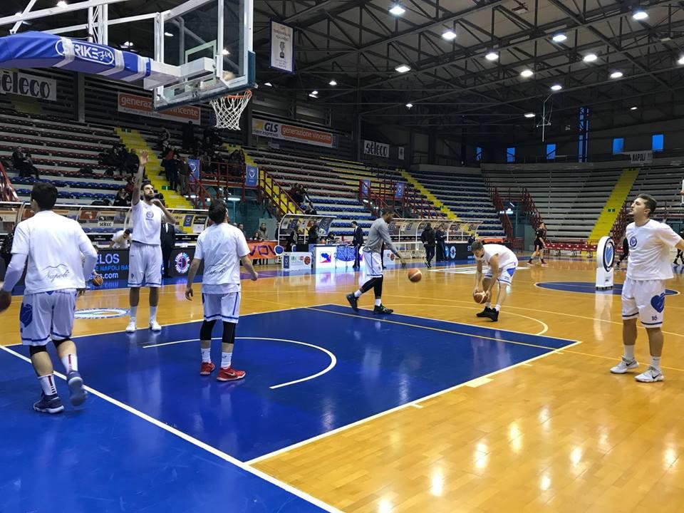 Il Napoli Basket torna in serie B