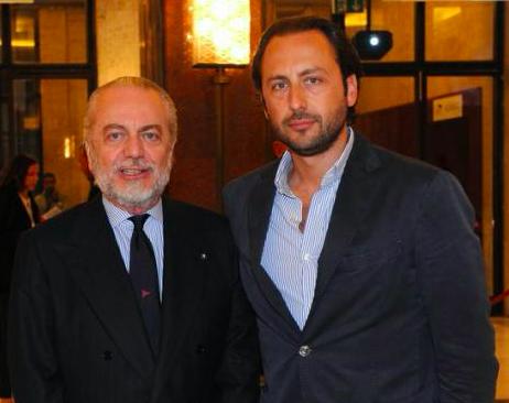 VIDEO – Luigi De Laurentiis filma dei giovani tifosi del Napoli: «Cacc e sord, t'accir!»