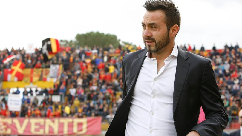 De Zerbi: Scudetto? « La Juve è più abituata a vincere, ma il Napoli ha più entusiasmo»