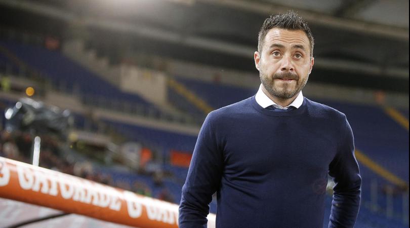 De Zerbi: «Grande impegno per potenziare la rosa, Sandro è un lusso per il Benevento»