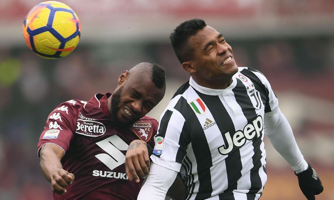 Torino-Juventus 0-1, ad Allegri basta un gol di Alex Sandro