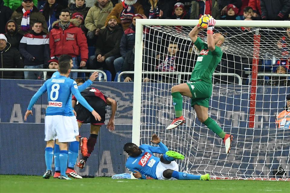 La grande forza difensiva del Napoli: 15 gol subiti, solo uno decisivo