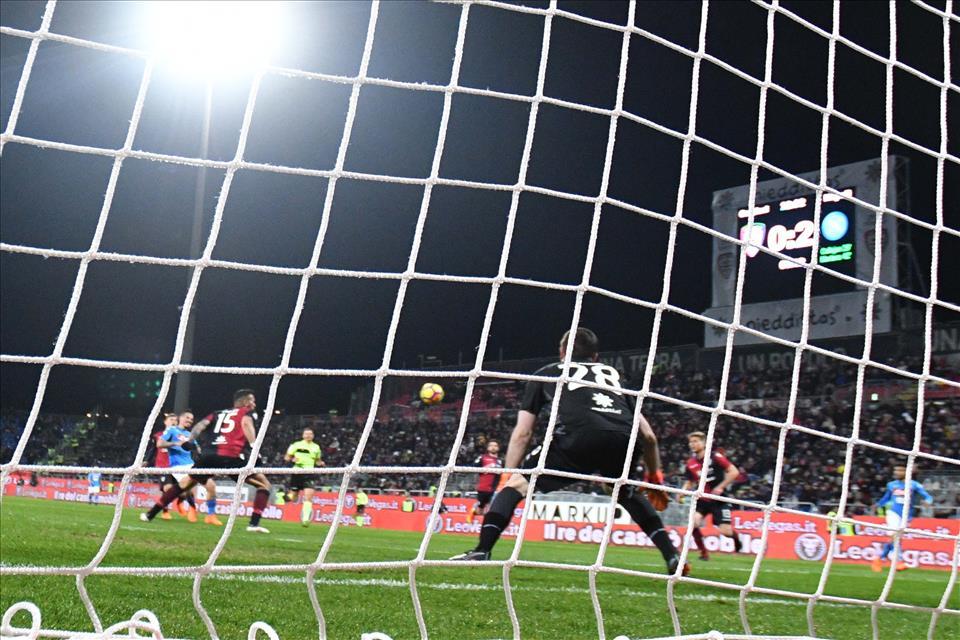 Il gol di Hamsik è il manifesto del Napoli di Sarri