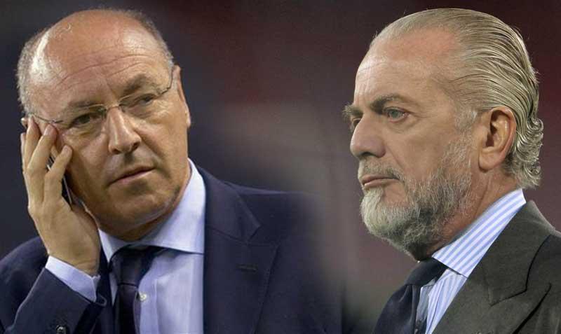 L'attacco di De Laurentiis alla Juventus è una risposta alle parole di Marotta su Politano