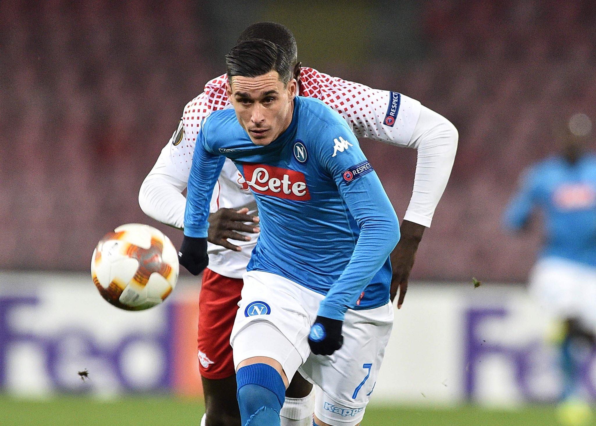 Napoli, quarta sconfitta dell'anno al San Paolo; Ounas è il 14esimo marcatore stagionale
