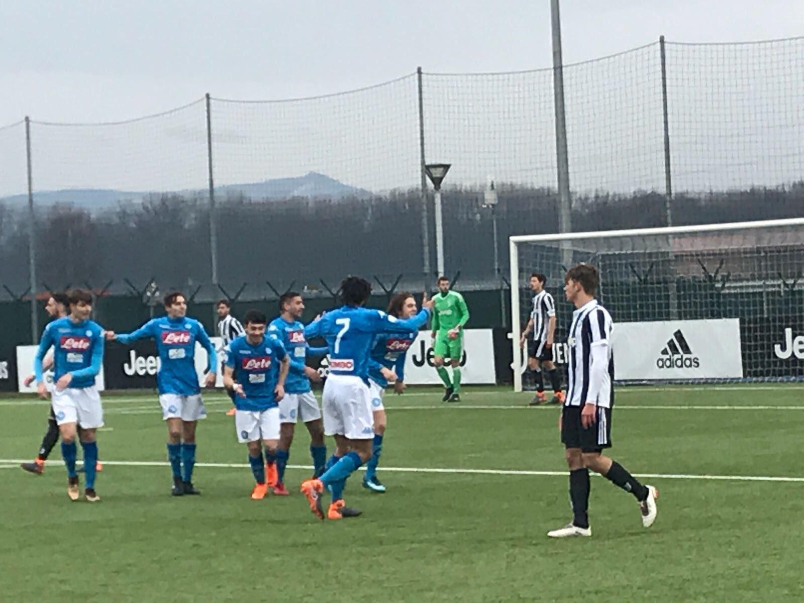 Primavera, Juventus-Napoli 2-3: Senese, Zerbin e Palmieri firmano il successo