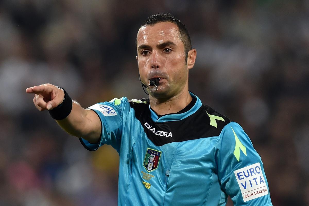 Gazzetta: «L'Aia promuove Guida, durante Fiorentina-Juve è stato applicato il regolamento»