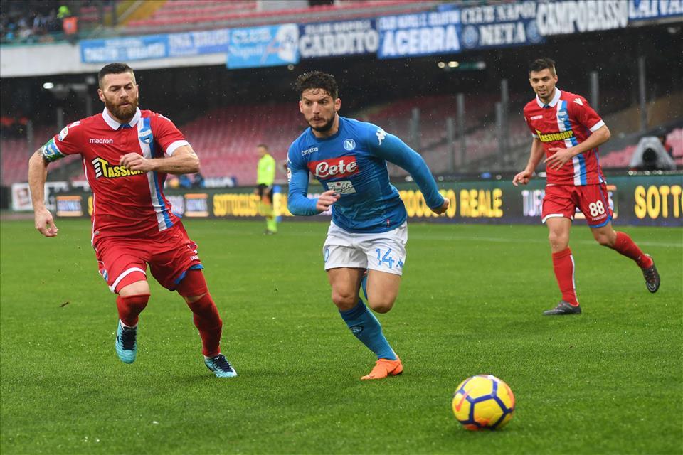 Mertens è anche regista offensivo: una risorsa infinita per il Napoli