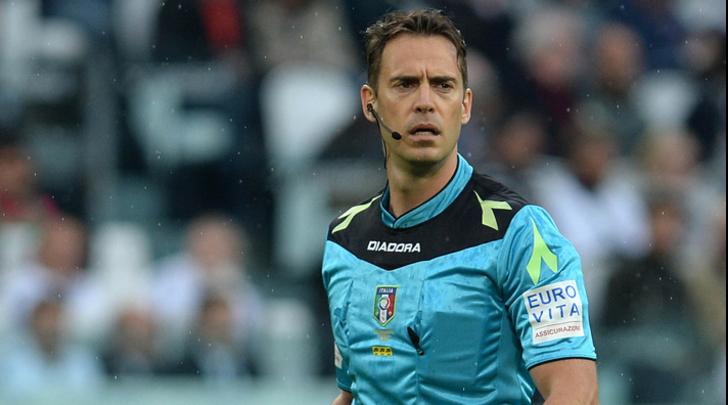 Napoli-Spal, dirige Gavillucci: un solo precedente con gli azzurri (3-1 al Pescara un anno fa)