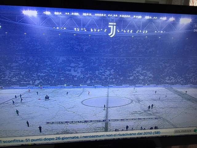 Juventus-Atalanta rinviata per neve