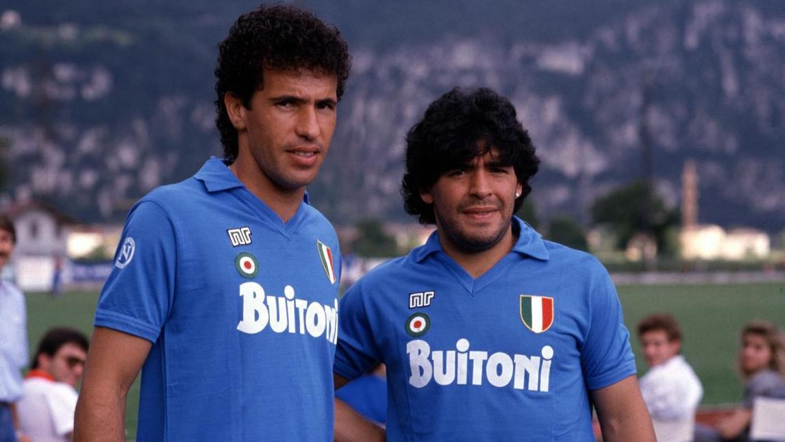 The Guardian: la maglia del Napoli 1987/88 è la quinta più bella nella storia della Serie A