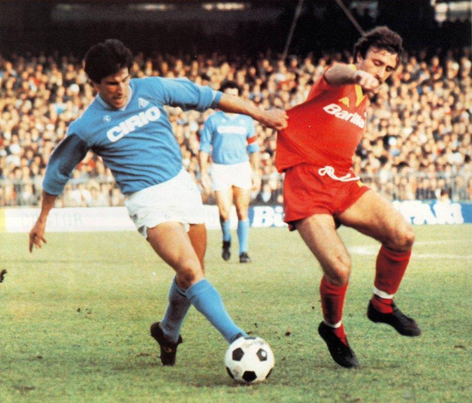 Un giorno all'improvviso un bambino a Roma nel 1984 divenne tifoso del Napoli
