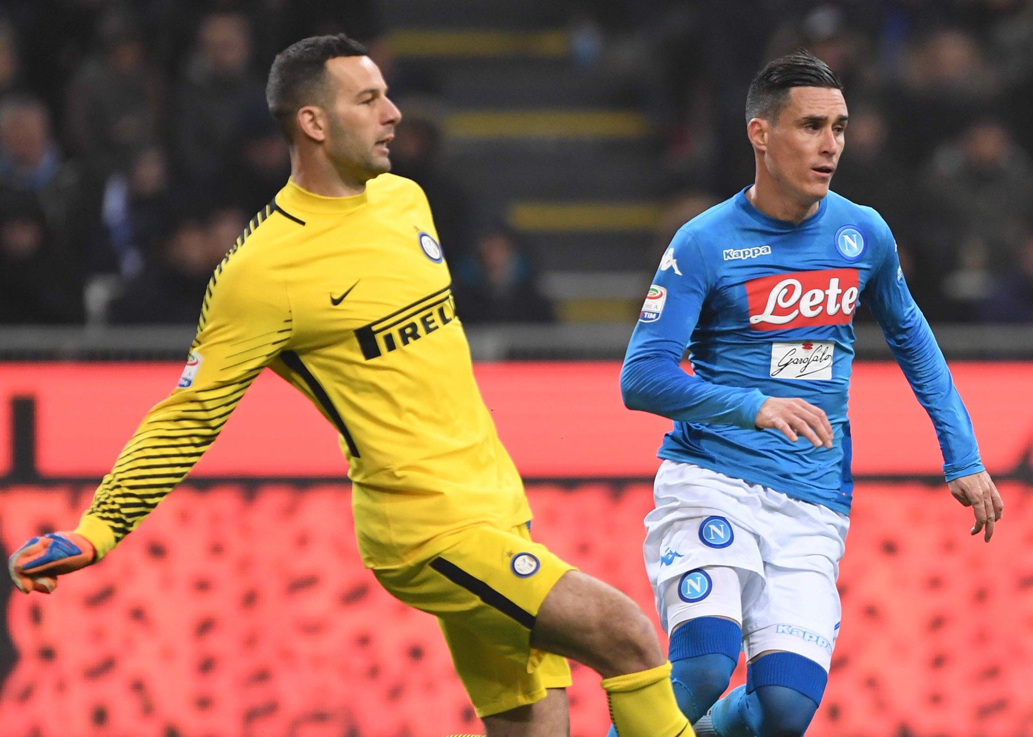 Secondo 0-0 contro l'Inter, Napoli a secco dopo 16 partite