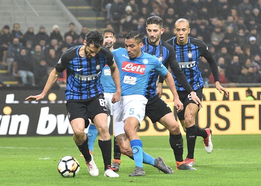 Inter-Napoli 0-0, partita tattica a San Siro: Sarri sorpassato dalla Juventus