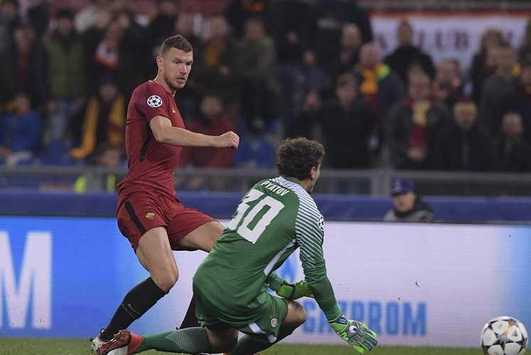 Il gol di Dzeko è un miracolo economico, per la Roma soldi e tranquillità con la Champions