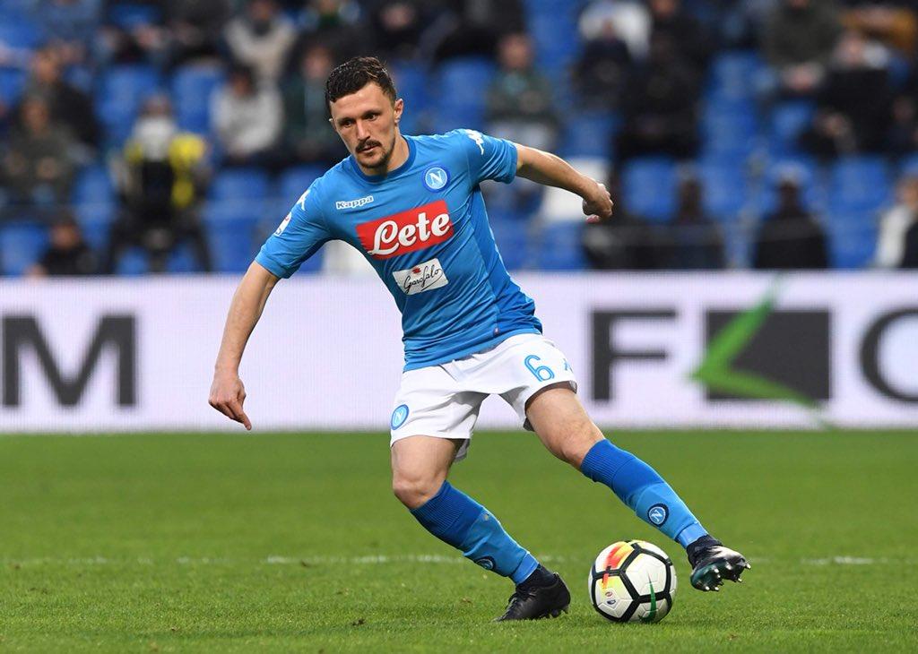 Sassuolo-Napoli 1-1, Politano e autorete nella ripresa: la Juventus può allungare