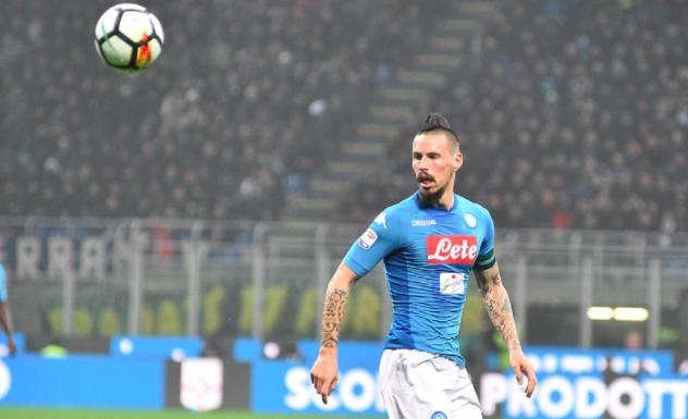 """Di Marzio: """"Il Napoli ha lasciato libero Hamsik fino a lunedì»"""