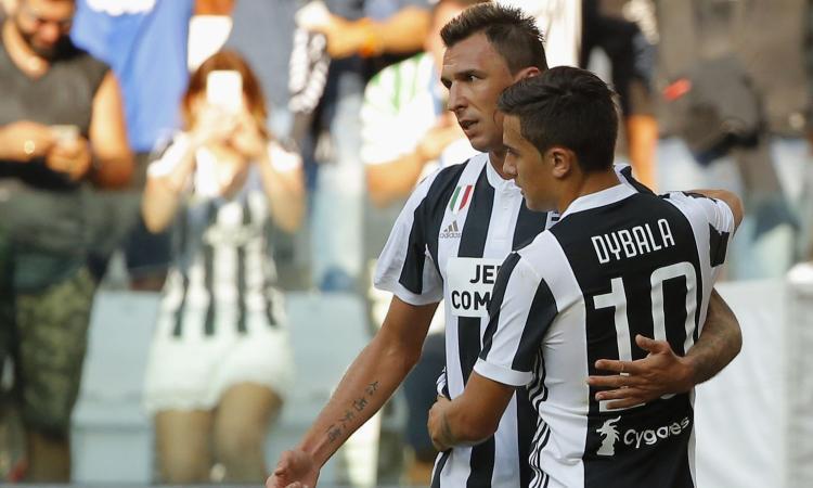 Contrordine Mandzukic: va in campo con Dybala, Juventus col 3-5-2