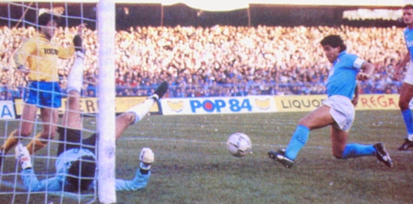 """Napoli-Verona, 1987. Vincemmo e dissero: """"A' criatura adda venì o' stadio a tutt'e ddummeniche"""""""
