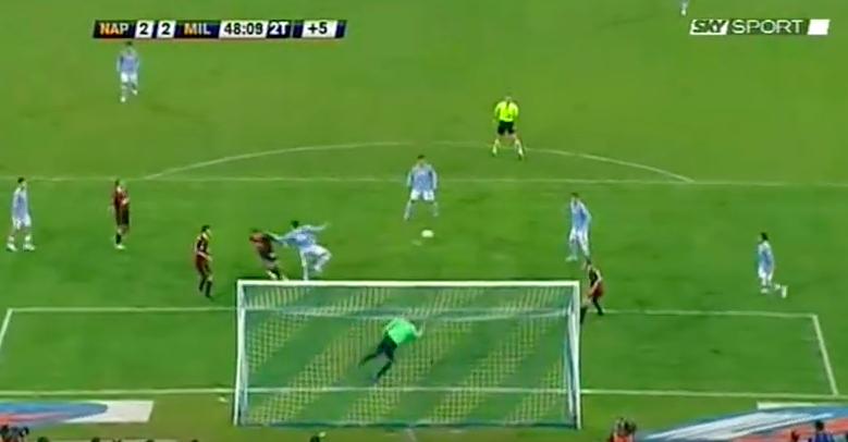 Il Napoli non mi interessava, finché non arrivò il 2-2 in rimonta al Milan