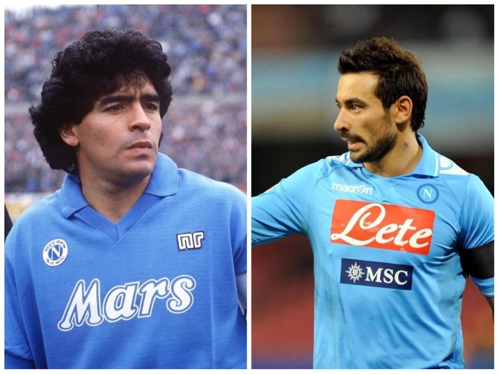 Diego Maradona e il Pocho Lavezzi: amore per gli argentini, amore per il Napoli
