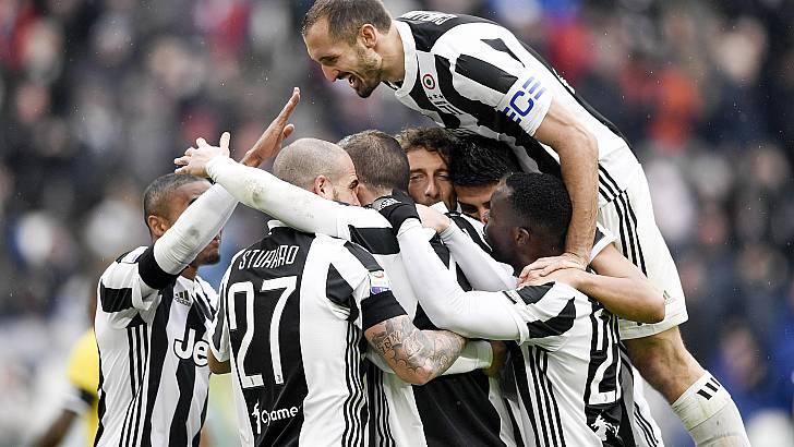 Le mostruose cifre della Juventus: dodici vittorie in fila e zero gol subiti nel girone di ritorno