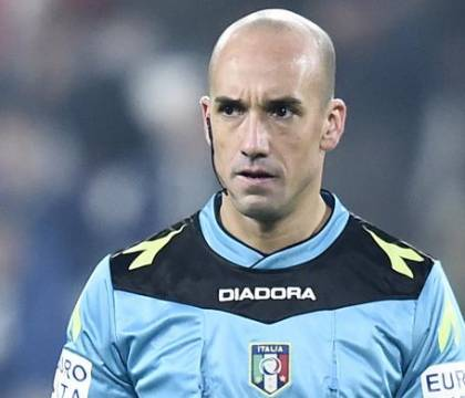 Verona Napoli, arbitra Fabbri