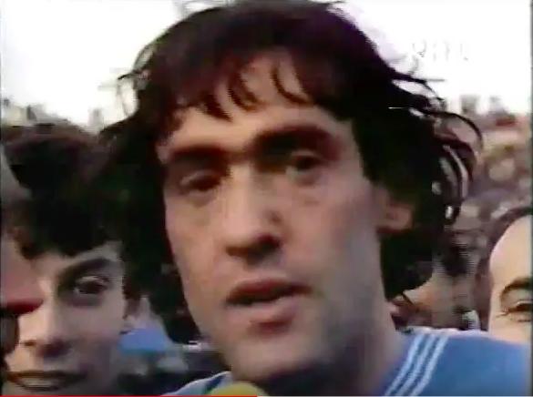 La prima grande gioia fu il gol di De Rosa alla Juventus