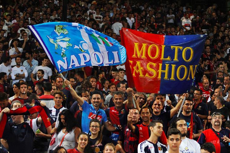 """Striscione dei tifosi della Samp """"Anche Napoli lo ha capito che fate…"""""""