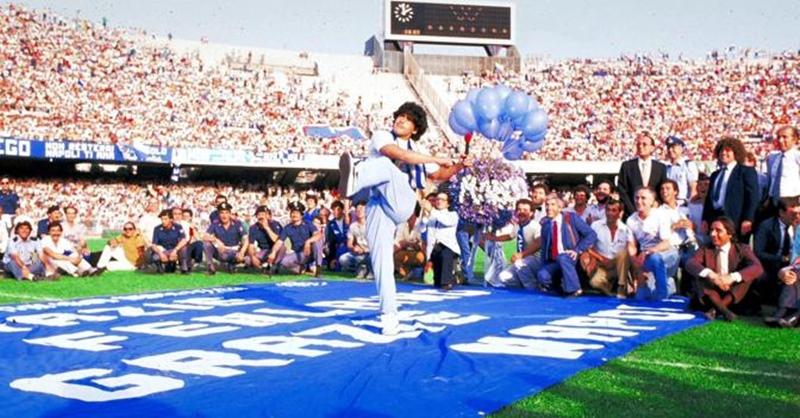 Il mio giorno all'improvviso è stato il 5 luglio 1984: il saluto di Maradona