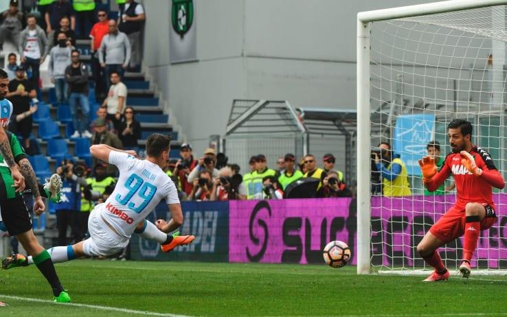 Sabato c'è Sassuolo-Napoli: con Sarri, gli azzurri hanno mai vinto al Mapei Stadium