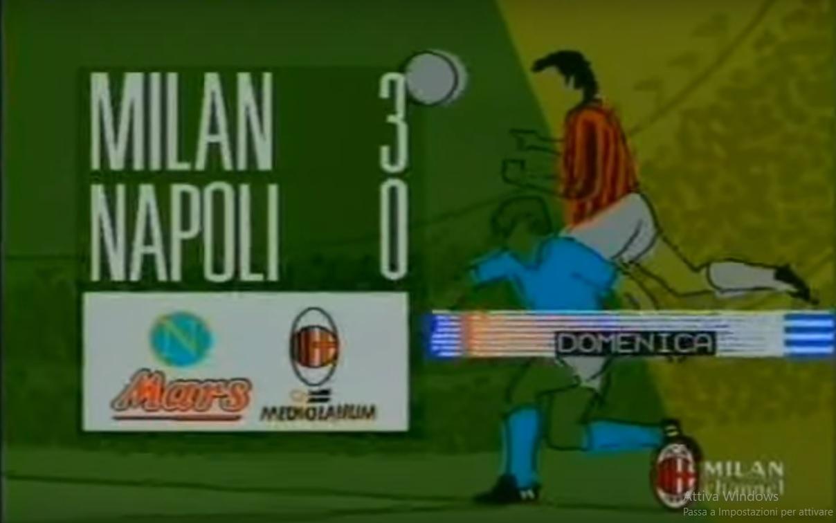 Nulla è perduto, nel 1990 il Napoli rimontò il Milan di Sacchi