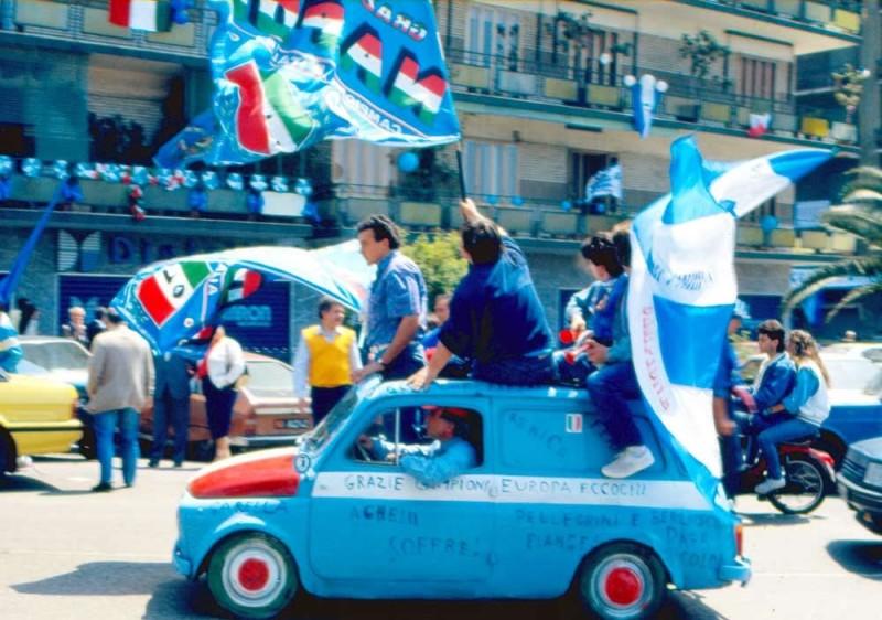Mi sono innamorato del Napoli nel giorno dello scudetto, quando ho visto mio padre felice