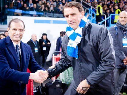 Semplici: «Lo scudetto? La Juve è la più forte ma attenti al Napoli, Ancelotti ha vinto tutto»